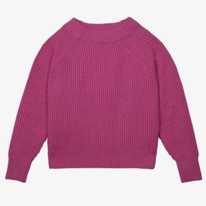 Soeur Edmond Wool Alpaca Chunky Knit Crew Sweater